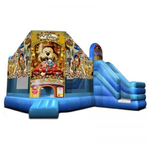 Candy Factory Combo Unit With Bouncy And Slide (Dry Only)