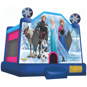 Disney Frozen Combo Unit With Bouncy And Slide