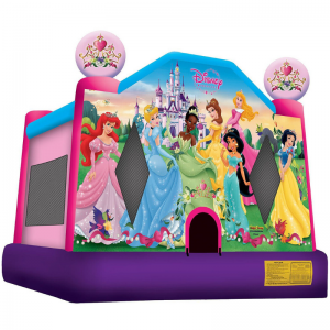 Disney Princess Combo Unit With Bouncy And Slide