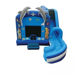 Jump & Splash Under The Sea Combo Unit With Bouncy And Slide
