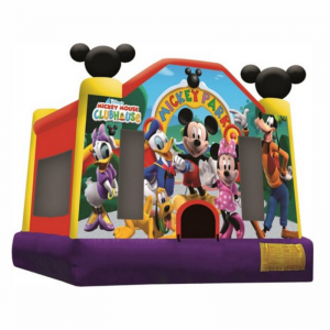 Mickey Mouse Combo Unit With Bouncy And Slide