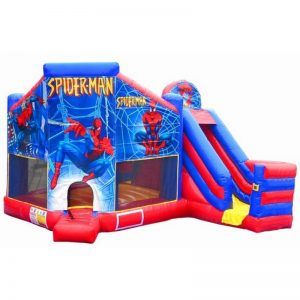 Spiderman Combo Unit With Bouncy And Slide (Dry Only)