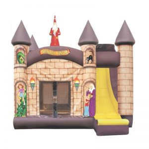 Wizard Castle Combo Unit With Bouncy And Slide