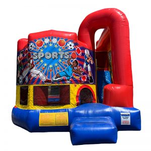 All Sport Modular Arch Combo Unit With Bouncy And Slide