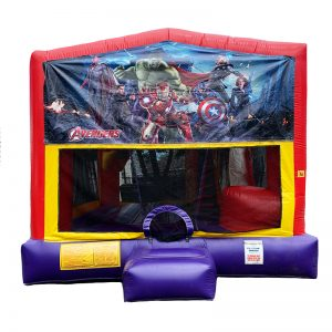 Avengers Combo Unit With Bouncy And Slide