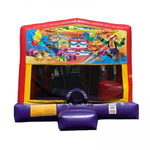 Birthday Party Combo Unit With Bouncy And Slide