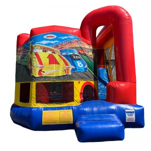 Cars Modular Arch Combo Unit With Bouncy And Slide