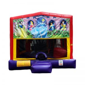 Disney Princesses Combo Unit With Bouncy And Slide