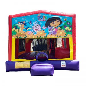 Dora The Explorer Combo Unit With Bouncy And Slide