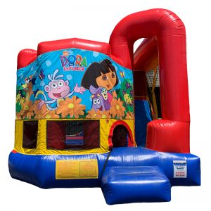 Dora The Explorer Modular Arch Combo Unit With Bouncy And Slide