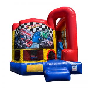 Hot Wheels Modular Arch Combo Unit With Bouncy And Slide