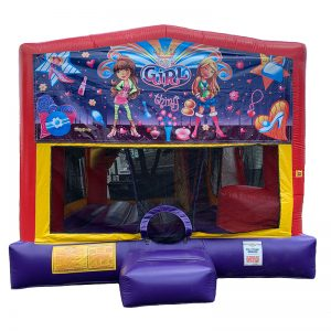 It's A Girl Thing Combo Unit With Bouncy And Slide