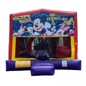 Mickey And Friends Combo Unit With Bouncy And Slide