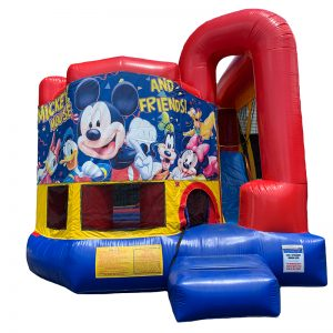 Mickey & Friends Modular Arch Combo Unit With Bouncy And Slide