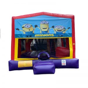 Minions Combo Unit With Bouncy And Slide
