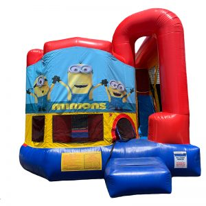 Minions Modular Arch Combo Unit With Bouncy And Slide