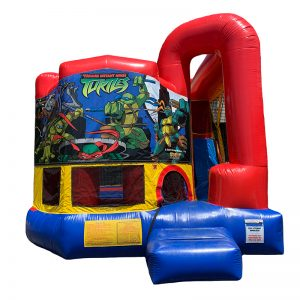 Ninja Turtles Modular Arch Combo Unit With Bouncy And Slide