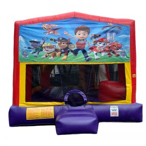 Paw Patrol Combo Unit With Bouncy And Slide