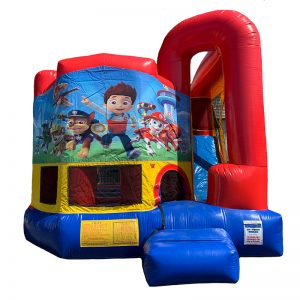 Paw Patrol Modular Arch Combo Unit With Bouncy And Slide