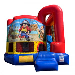Pirate Modular Arch Combo Unit With Bouncy And Slide