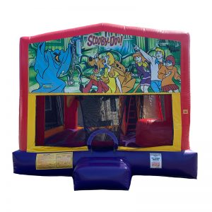 Scooby Doo Combo Unit With Bouncy And Slide