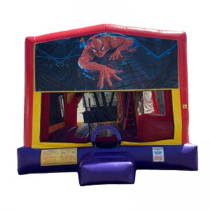 Spiderman Combo Unit With Bouncy And Slide