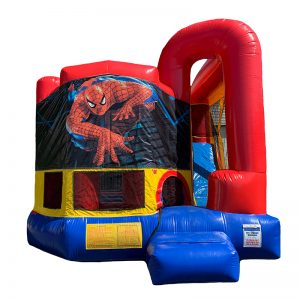 Spiderman Modular Arch Combo Unit With Bouncy And Slide