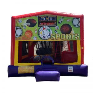 Sports Combo Unit With Bouncy And Slide