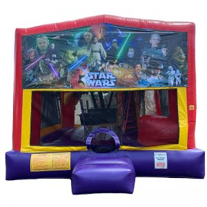 Star Wars Franchise Combo Unit With Bouncy And Slide