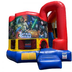 Star Wars Franchise Modular Arch Combo Unit With Bouncy And Slide