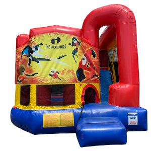 Incredibles Modular Arch Combo Unit With Bouncy And Slide