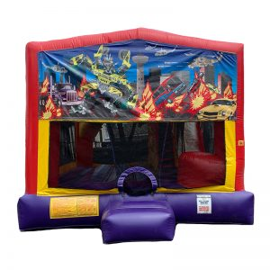 Transformers Combo Unit With Bouncy And Slide