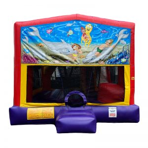 Under The Sea Combo Unit With Bouncy And Slide